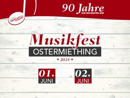 Musikfest Ostermiething - 90 Jahre Marktmusikkapelle