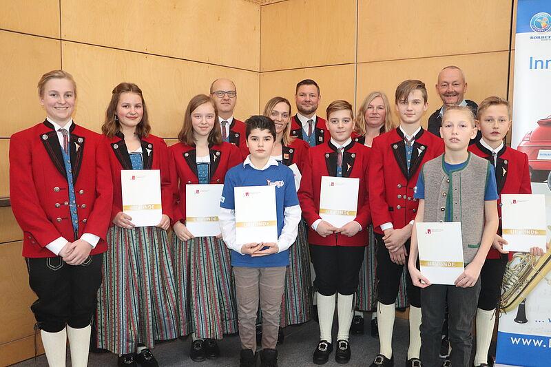 Verleihung Jungmusiker-Leistungsabzeichen